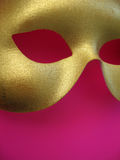 Gold Mask 2. A golden phantom mask Stock Photo
