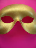 Gold Mask 4 Royalty Free Stock Images