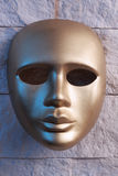 Gold mask Royalty Free Stock Image