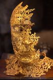 Gold Mask Royalty Free Stock Images