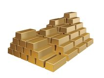 Gold mass Royalty Free Stock Photography