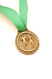 Gold medal Stock Images
