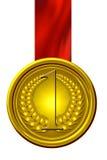 Gold medal Stock Photos