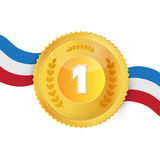 Gold Medal, Award Stock Images