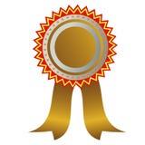 Gold medal: champion medal. West gold medal: champion medal Stock Images