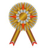 Gold medal: champion medal Royalty Free Stock Photos