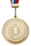 Gold Medal close-up Royalty Free Stock Images