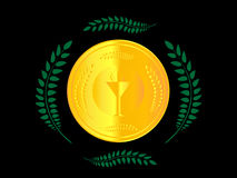 Gold Medal 1 Stock Image