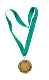 Gold medal isolated Royalty Free Stock Image