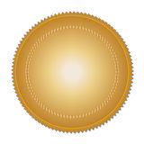 Gold medal (vector) Stock Photos