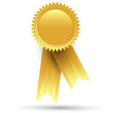 Gold medal. On a white background Royalty Free Stock Photos