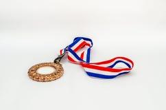 Gold Medal for Winner Stock Photo