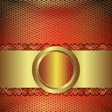 Gold mesh Royalty Free Stock Photo