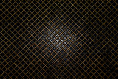 Gold mesh on the water,abstract grid background, water surface, Stock Images