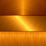 Gold metal Royalty Free Stock Images