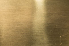 Gold metal alloy texture close up, made from gold silver and cop Royalty Free Stock Photo