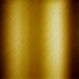 Gold metal background Stock Image