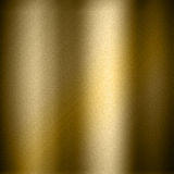 Gold metal background. Gold background with a brushed metal design royalty free illustration