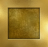 Gold metal background Royalty Free Stock Photos