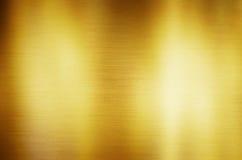 Gold metal background Stock Photos
