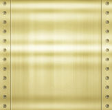 Gold metal background texture Stock Image