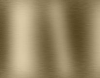 Gold metal brushed background Stock Photo