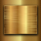 Gold metal Stock Images