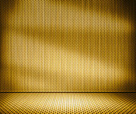 Gold Metal Interior Background Royalty Free Stock Photos