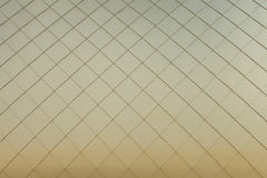 Gold metal panels background Stock Image
