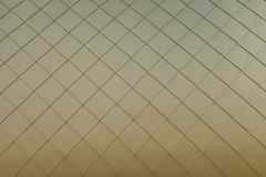 Gold metal panels background Stock Images