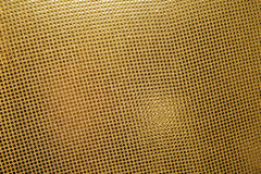 Gold metal pattern Royalty Free Stock Photography