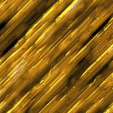 Gold metal rods Royalty Free Stock Photography