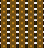 Gold metal shapes, abstract background Royalty Free Stock Photography