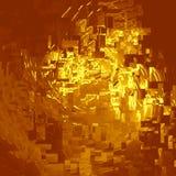 Gold metal squares Stock Photo