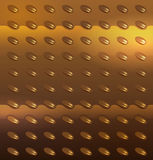 Gold metal texture Royalty Free Stock Photography