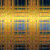 Gold metal texture background with black grid seamless pattern Royalty Free Stock Photography