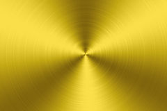 Gold Metal texture background Stock Photos