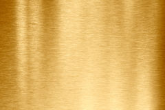 Gold metal texture. Gold brushed metal texture or background Stock Image