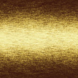 Gold metal texture with delicate canvas texture Stock Images