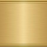 gold metal texture plaque Stock Images