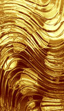 Gold metallic background. With circles vector illustration