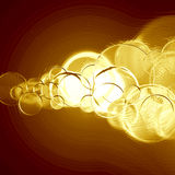Gold metallic background Stock Images