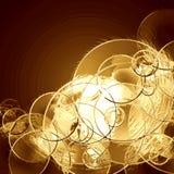 Gold Metallic Background Stock Photo