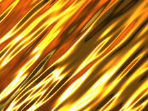 Gold metallic background Royalty Free Stock Images