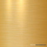 Gold metallic background. Polished texture. Royalty Free Stock Image