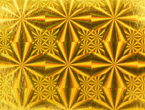 Gold metallic  paper Stock Photos