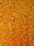 Gold metallic paper Stock Images