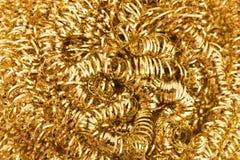 Gold Metallic Texture Stock Photography