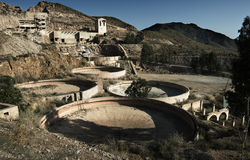 Gold Mine. Abandoned gold mine in the south of Spain stock photography