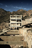 Gold Mine. Abandoned gold mine in the south of Spain stock image